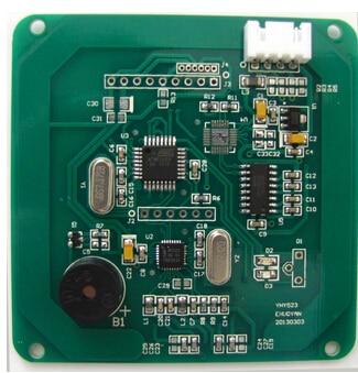 2 pcs lot built in buzzer LED rs232 rfid module