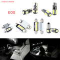 10 unids led canbus luces interiores kit package para volkswagen vw eos