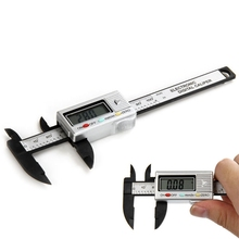 Discount! Precision 100mm Vernier Calipers Electronic Digital LCD Plastic Caliper Micrometer Minimum Scale