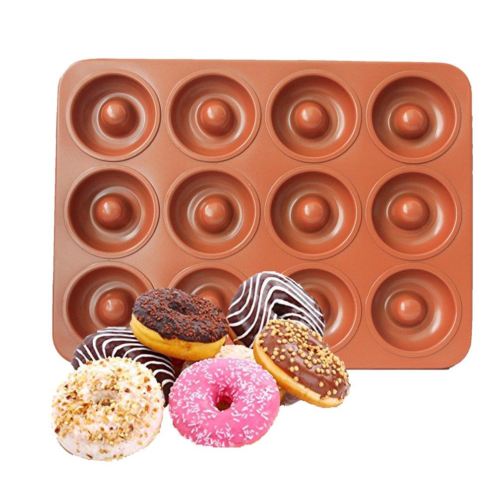 Norpro Nonstick Petite Mini Donut Doughnut Pan Makes 12