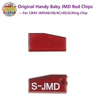 Original Red Chip For JMD Handy Baby II CBAY JMD46 47 48 4C 4D G King Chip Car Key Copy Key Programmer