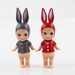 Image 2 - Lote de 4 muñecas de juguete, modelo de juguete para niños, de Sony Angel, Kewpie