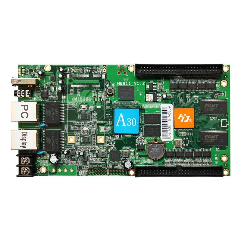 HD-A30 huidu high performance full color asynchronous led control system compare linsn colorlight novastar цена и фото