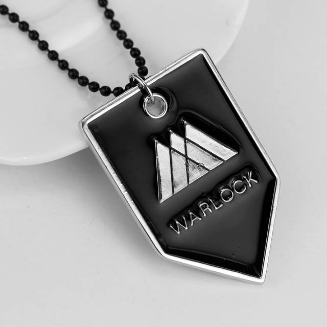 US $1 99 |Destiny Necklace Hunter Warlock Titan Pendant Emblem necklace  Ghost Iron Banner 2-in Pendant Necklaces from Jewelry & Accessories on