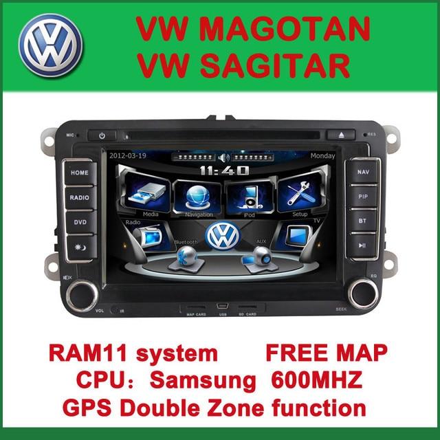 """7"""" 2 Din Dvd Car Player For VW Sagitar/Magotan /Touran/Tiguan/Caddy/Polo/Golf/Eos/Scirocco/T5/Skoda Octavia/Superb"""