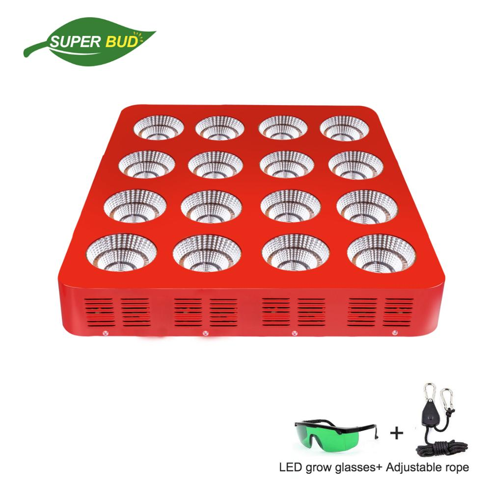 MAX-SUN 400W 900W 1600W LED Grow Light COB Chip 90% Sunlight Full Spectrum Commercial Greenhouse Plant Growing Herbs Flower