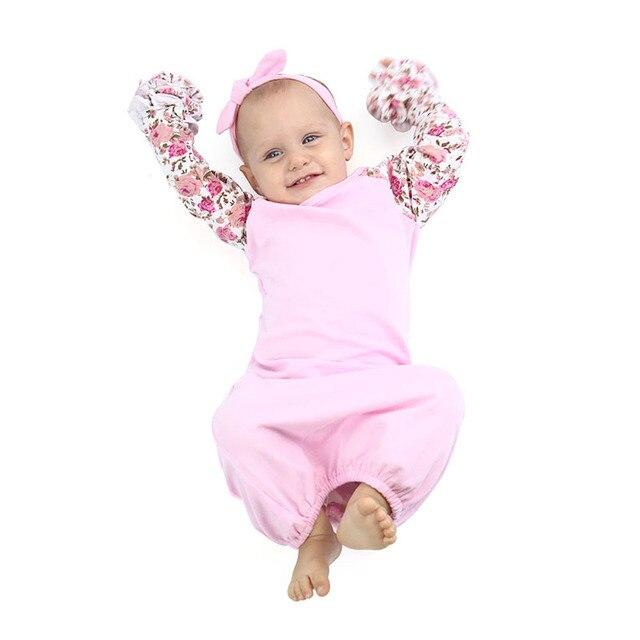c044c43c85ac Baby Sleeping Bag Newborn Infant Sleeping Bag Cotton Soft Floral ...