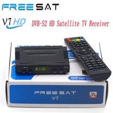 5 fotos de Freesat V7 DVB-S2 HD Receptor de TV Por Satélite soporte Biss Clave PowerVu Cccamed Newcamd Youtube Youpornset top box DVB-S2