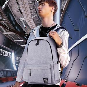 Image 2 - School Backpack men Waterproof Backpack Laptop 15 Men Travel Teenage Backpack Bag Male Bagpack Mochila notebook
