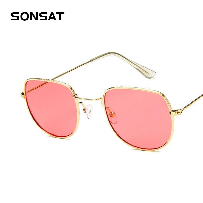 2017 Candy Color Round Sunglasses Women Fashion Sun Glasses Women Mirror Classic Vintage UV400 Oculos De Sol Gafas