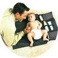Салфетки Пеленки смены пеленки вкладыши портативный водонепроницаемый подгузники одеяло size77CM Х 60 СМ рождественский подарок