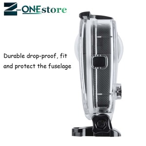 Image 3 - New 45M Underwater Waterproof Case for GoPro Fusion Camera Diving Housing Mount for GoPro Fusion Accessories