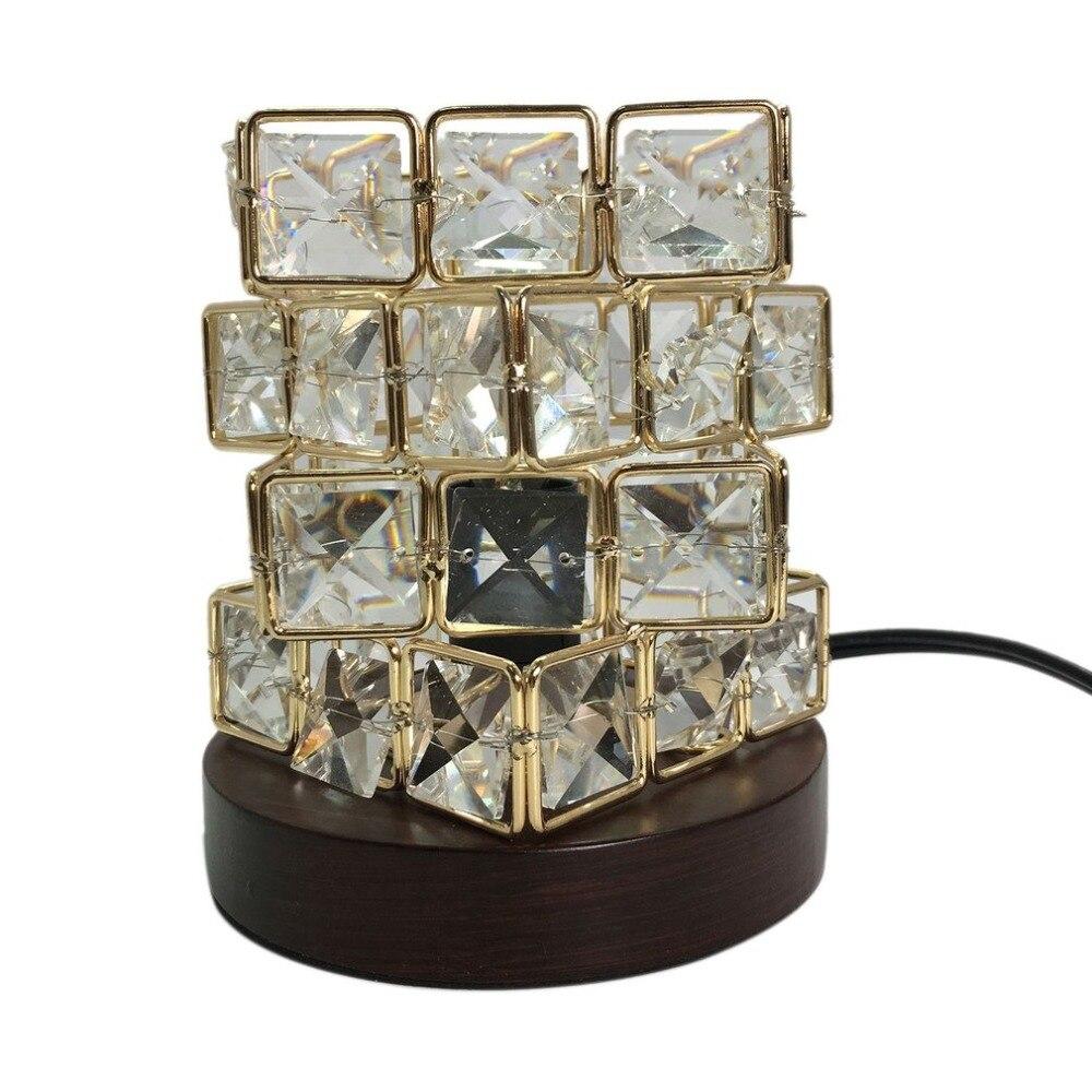 Magic Cube Shape Healthy Life Himalayan Natural Crystal Salt Light Air Purifying Himalayan Salt Lamp for Bedroom