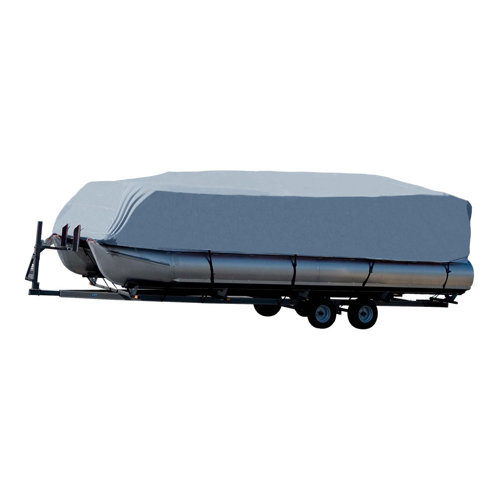 14-24ft For Universals Heavy Boat Covers 201D Waterproof Dustproof Trailerable Pontoon Boat Cover Coat Protect Rain UV  D45