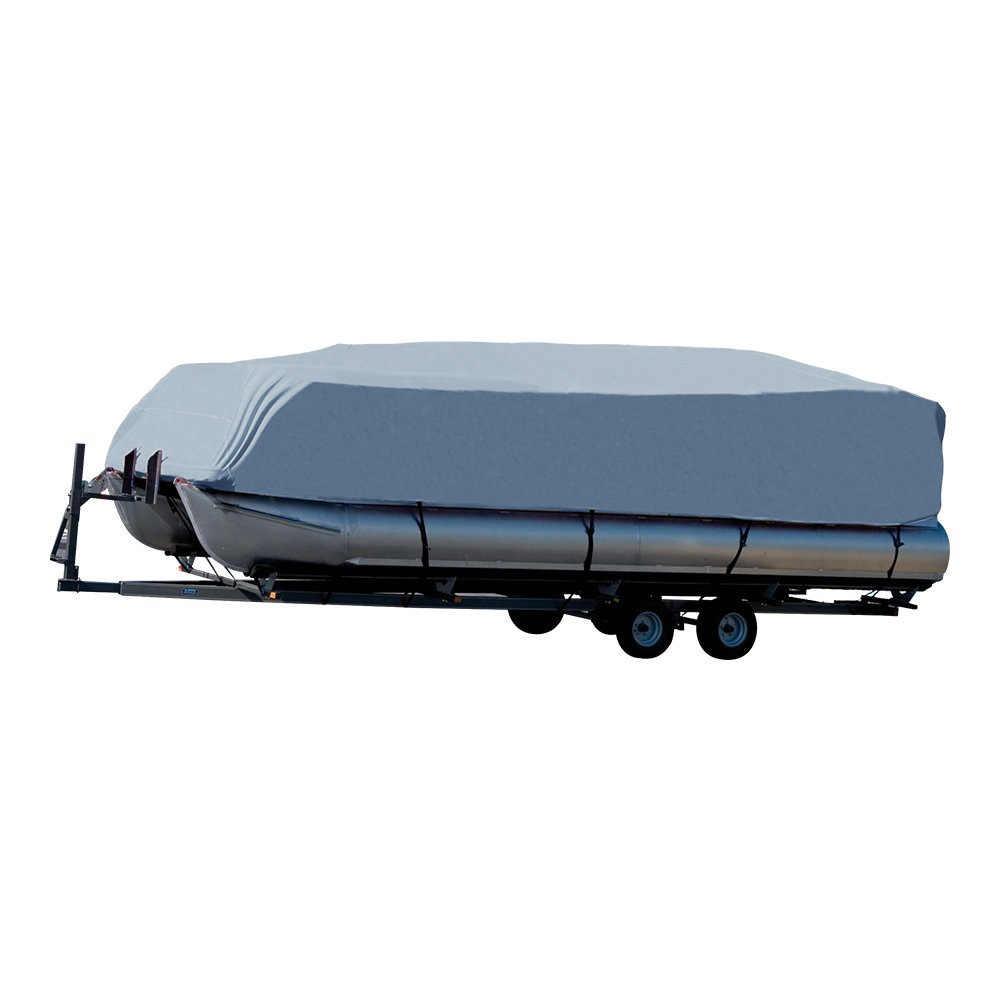 14-24ft untuk Universal Berat Perahu Mencakup 201D Tahan Air Tahan Debu Trailerable Ponton Penutup Perahu Mantel Melindungi Hujan UV D45