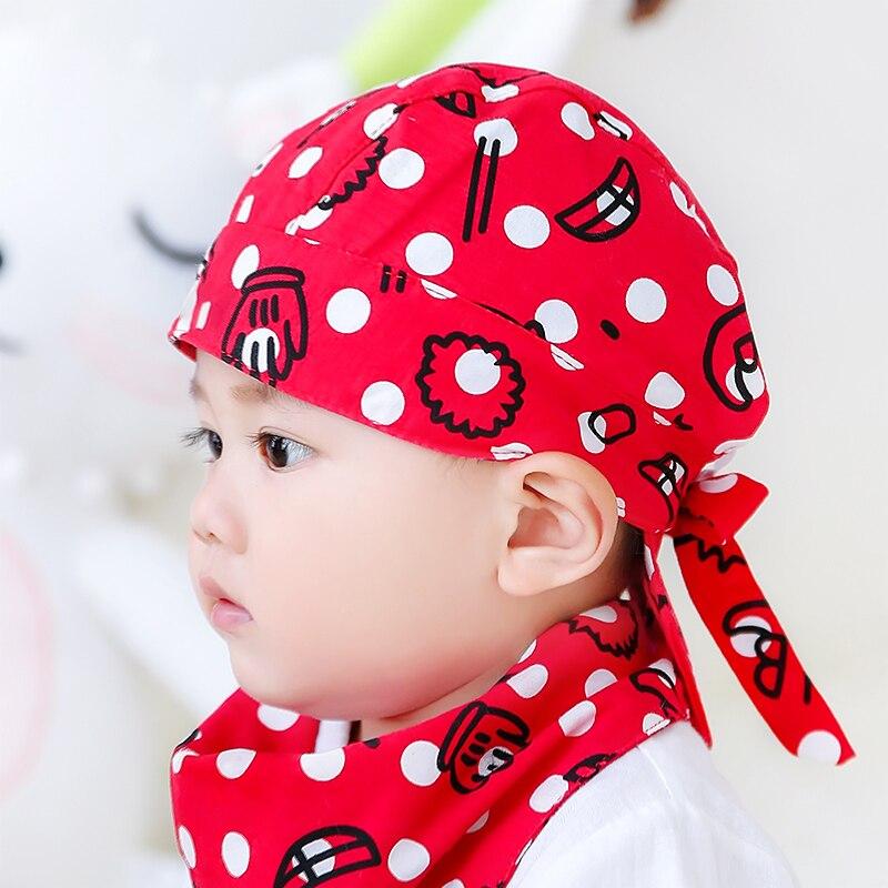 2019 Neue Skullcap Kinder Melone Kappe Baby Hut Frühling Und Herbst Junge Dünne Abschnitt Weibliche Baby Nette Super Nette Kind Pirate Hut