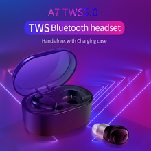 Redseagift TWS Bluetooth Headset Hands Free with Charging Case Bluetooth 5.0 Hifi Stereo Sound Earbuds наушники цена