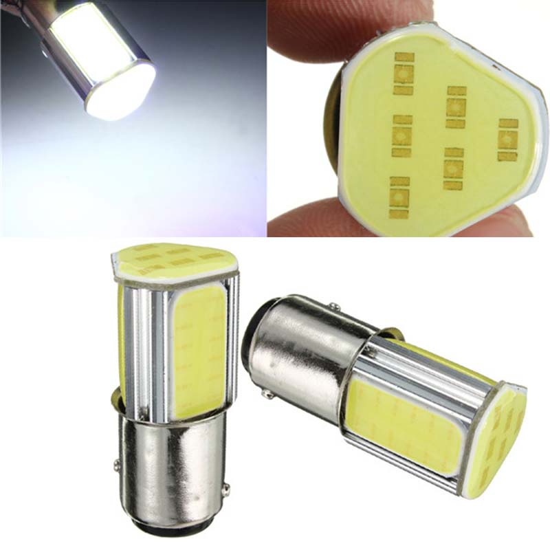 Hot Sale 1157 BAY15D COB LED Car Auto Light Source Brake Turn Signal Brake Lights Bulb New For Audi