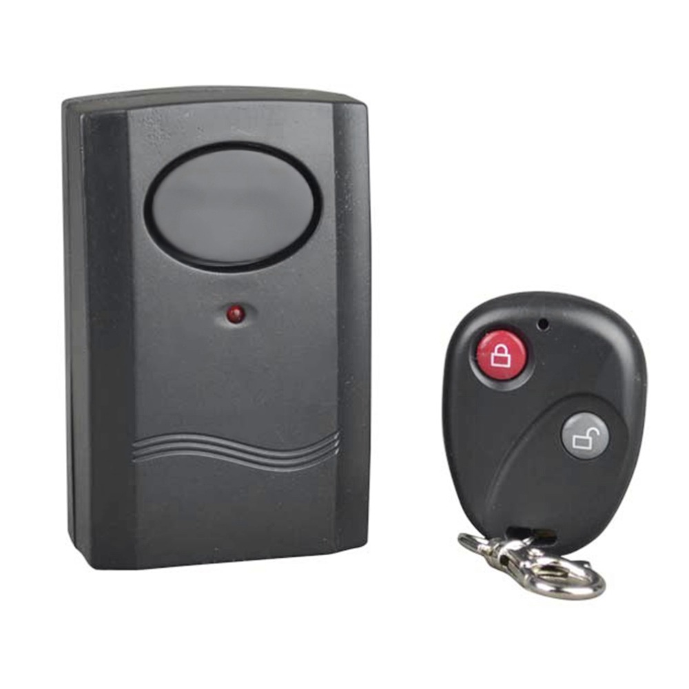 Dpower Security Wireless Remote Control Vibration Motorcycle Car Detector Anti-theft Alarm Security System 120dB hot selling universal 12v vehicle car burglar alarm keyless entry security protecting system anti theft device with remote control lb 100d