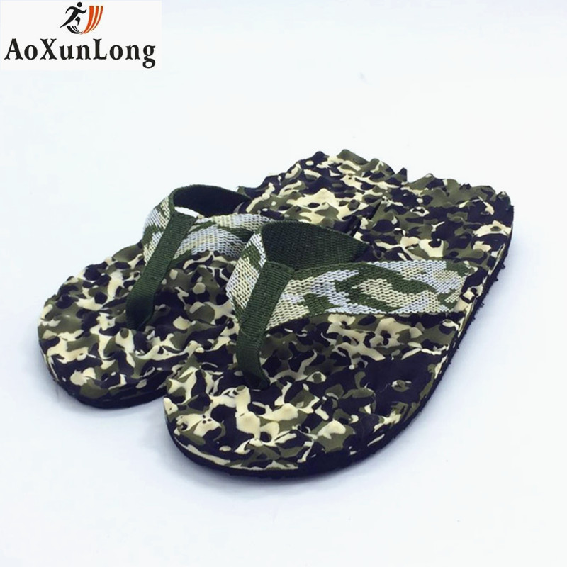 Summer Beach Men Flip Flops Cloth Massage Men Slippers Outdoor Non-slip Men Casual Shoes Home Slippers Beach Men Sandals 39-44 suihyung design new women and men summer flat shoes hit color breathable hollow beach slippers flips non slip unisex sandals