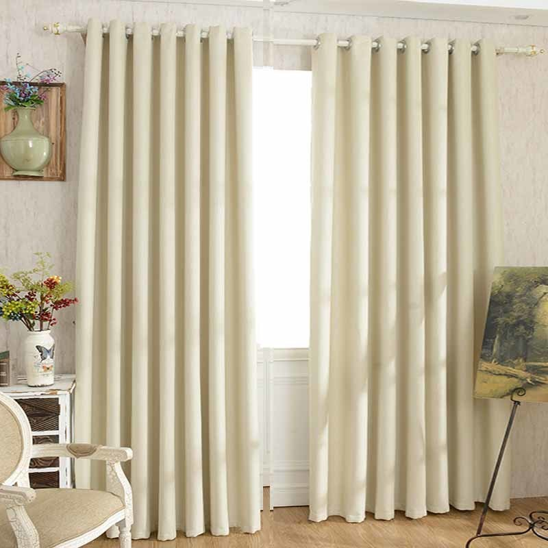 Creative Plaid 100% Blackout Curtain For Living Room Darpe Faux Linen Curtains For Bedroom Rideaux Window Customized Cortina Home & Garden
