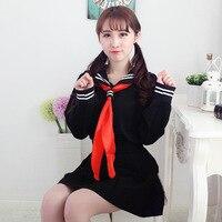 Giapponese scuola uniforme ragazze della scuola classe navy marinaio uniformi scolastiche Inferno Girl ai Enma Anime Cosplay vestito delle ragazze 3 Pz/set