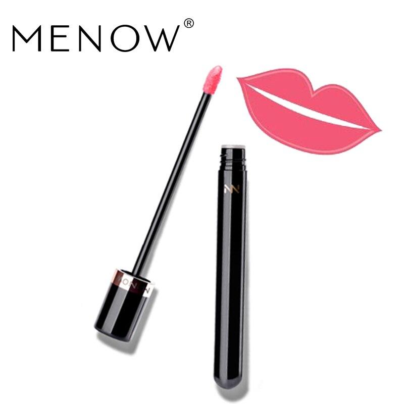 MENOW Brand Matte Lip gloss Moisturizing Long Lasting  Waterproof Kissproof Lip gloss Professional Lip-Make up Cosmetics  LG01