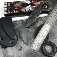 M390 Powder Mechanical Claw Knife Outdoor Survival CS GO Combat Hunting Knives Tactical Pocket Camping ring Knife Mini EDC Tools