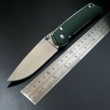New sale Great quality DZ1 knife D2 Steel blade Folding Knife G10 handle camping hunting outdoor survival Knives tool