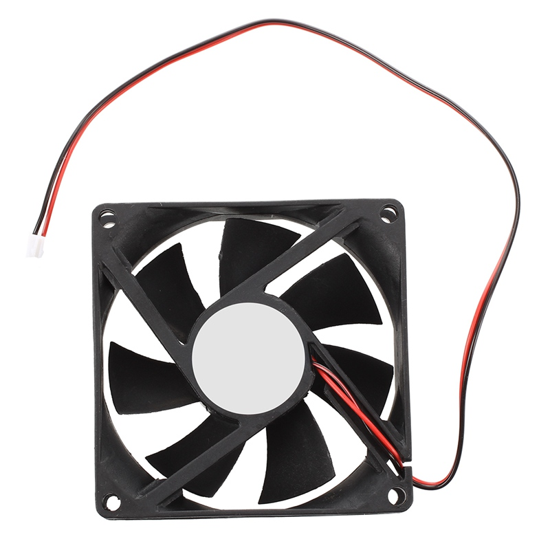 80mm DC 12V 2pin PC Computer Desktop Case CPU Cooler Cooling Fan Adapter Other Radiator Which Size And Connector Are Matched
