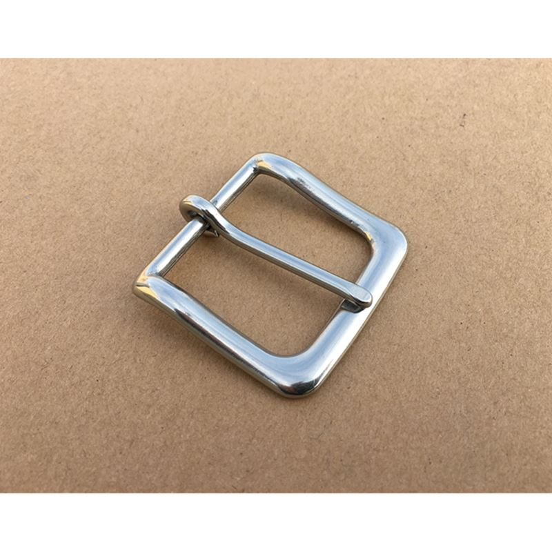 Belt Buckle  Stainless Steel Pin Buckle For Leather Bag Garment Inside Width 33mm 39mm 2Pcs/Lot