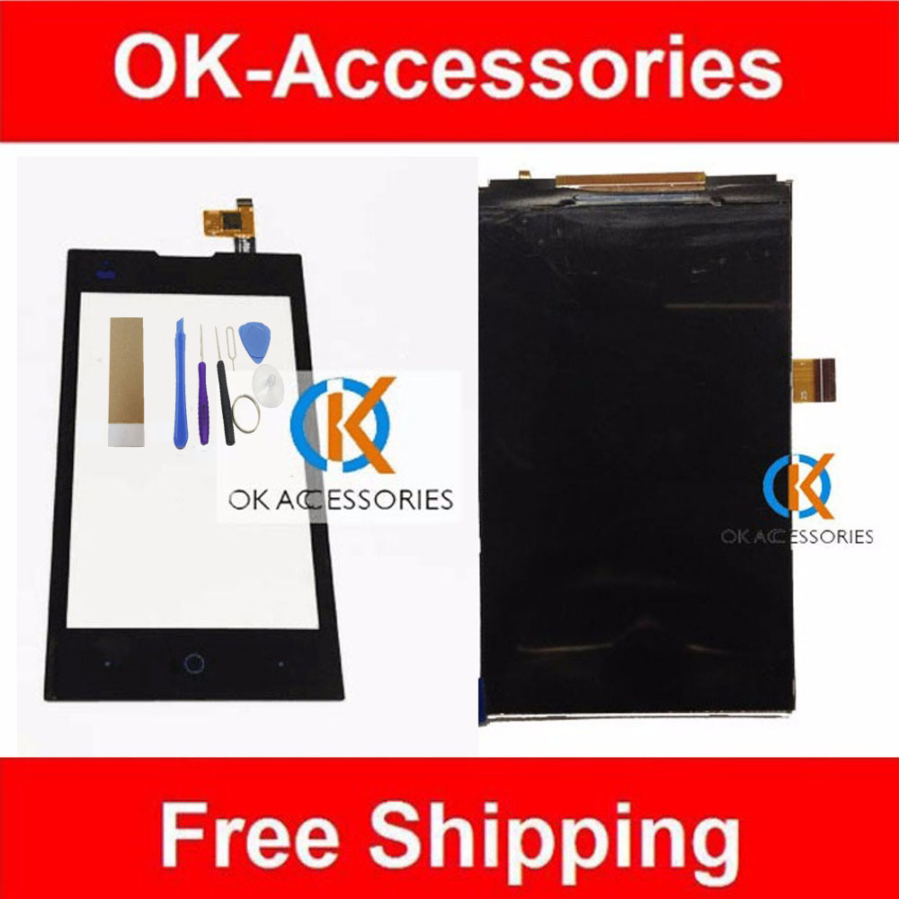 Black Color For ZTE Kis 2 II Max V815W V815 Original LCD With Display Touch Screen With Tools and Tape 1PC /Lot