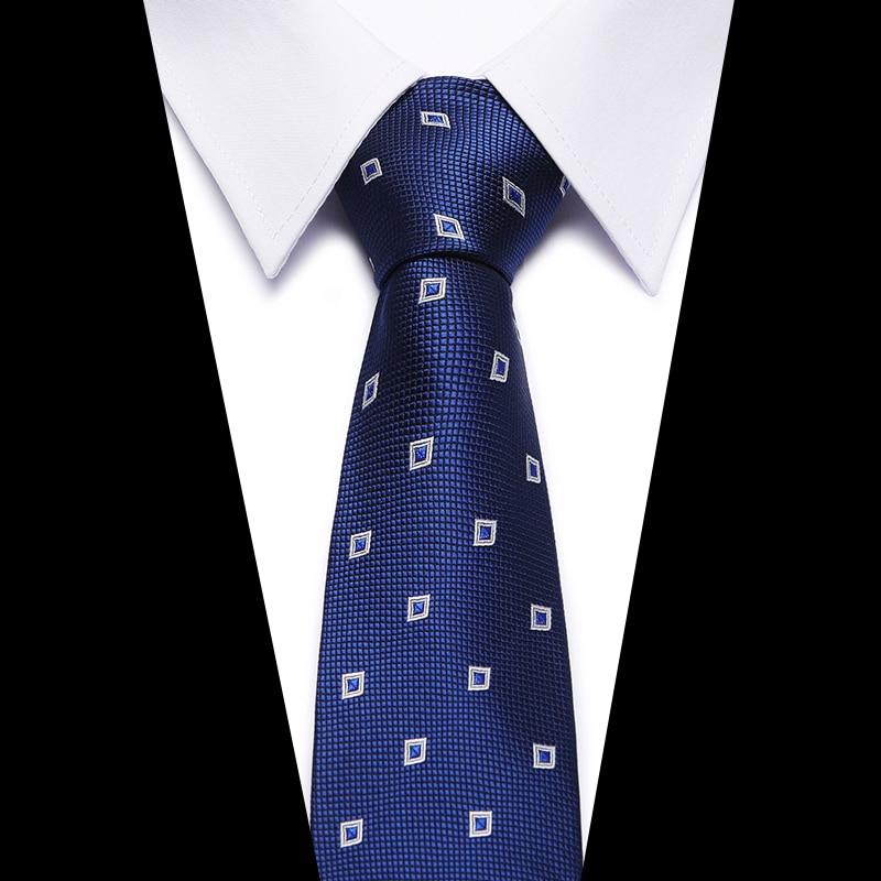 New Plaid Tie For Men Extra Long Size 145cm*8cm Necktie Green Paisley Silk Jacquard Woven Neck Tie Suit Wedding Party 2018-056