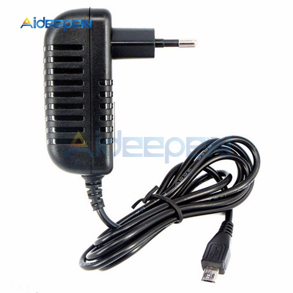 100-240V AC to DC <font><b>Power</b></font> <font><b>Adapter</b></font> Supply Charger <font><b>Adapter</b></font> <font><b>5V</b></font> <font><b>3A</b></font> EU Plug for Switch LED Strip Lamp image