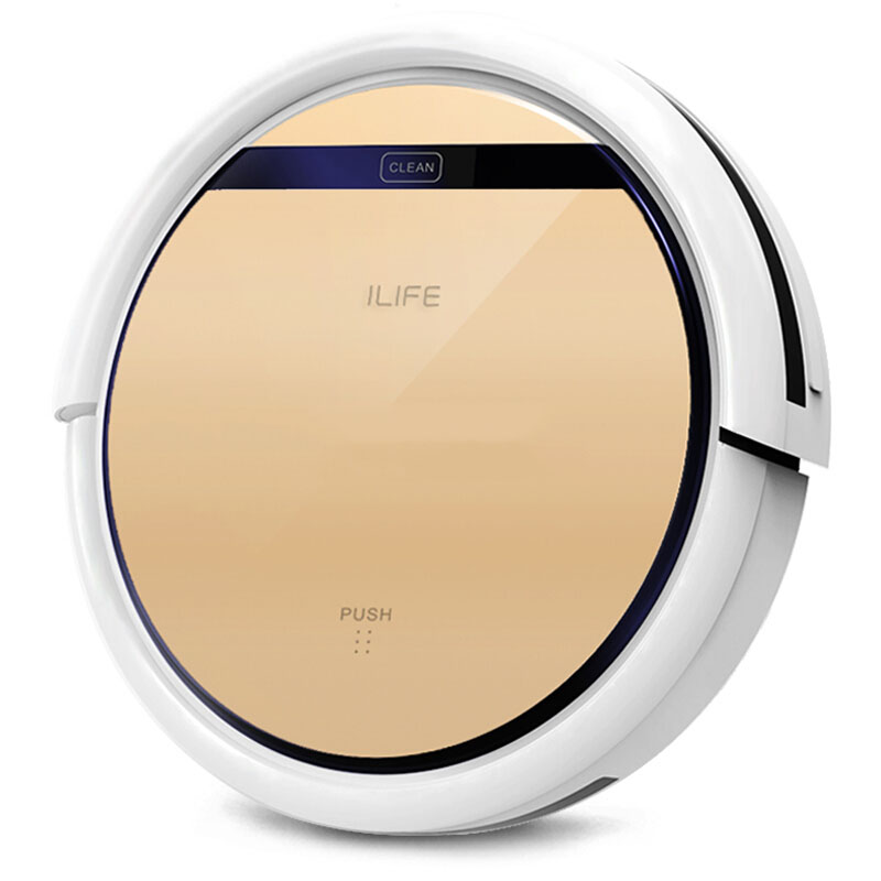ILIFE V5S PRO robot vacuum cleaner for home with 1000pa 2600mAh Lithium Battery automatic sweep and wet mop Robot Aspirador