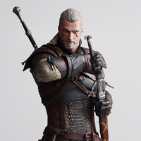 The Witcher 3: Wild Hunt Geralt of Rivia Action Figure Model Toy Anime Game DARK HORSE Display Juguetes Children Brinquedos Gift