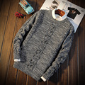 Round Neck Casual Knitwear Sweater S327 Christmas Sweater Men Pullover Men Male Sweater Pull Homme Marque
