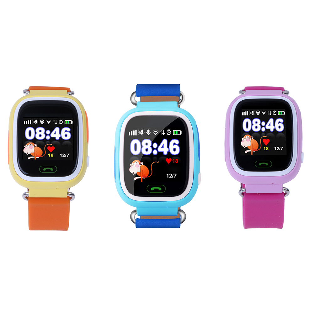 gps tracker children watch anti lost sos call kids smart. Black Bedroom Furniture Sets. Home Design Ideas