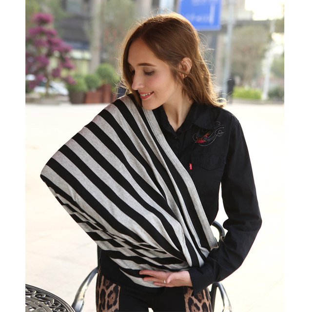 Baby Car Seat Cover Canopy Nursing Cover Multi Use Stretchy Infinity Scarf  Breastfeeding Shopping Cart Cover High Chair Cover  Nursing Cover