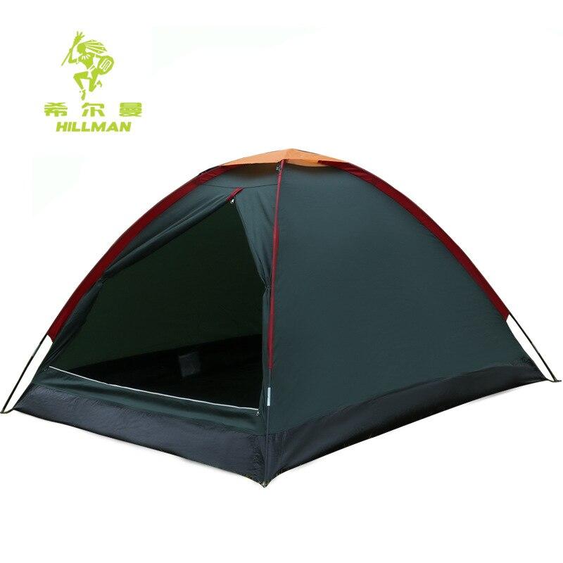 ФОТО Hillman outdoor double deck Tent Camping Park leisure summer tent windproof waterproof double tent xx039
