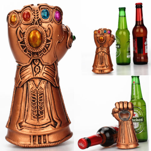 Multipurpose Infinity Thanos Gauntlet Glove Beer Bottle Opener And Glass Cap Remover