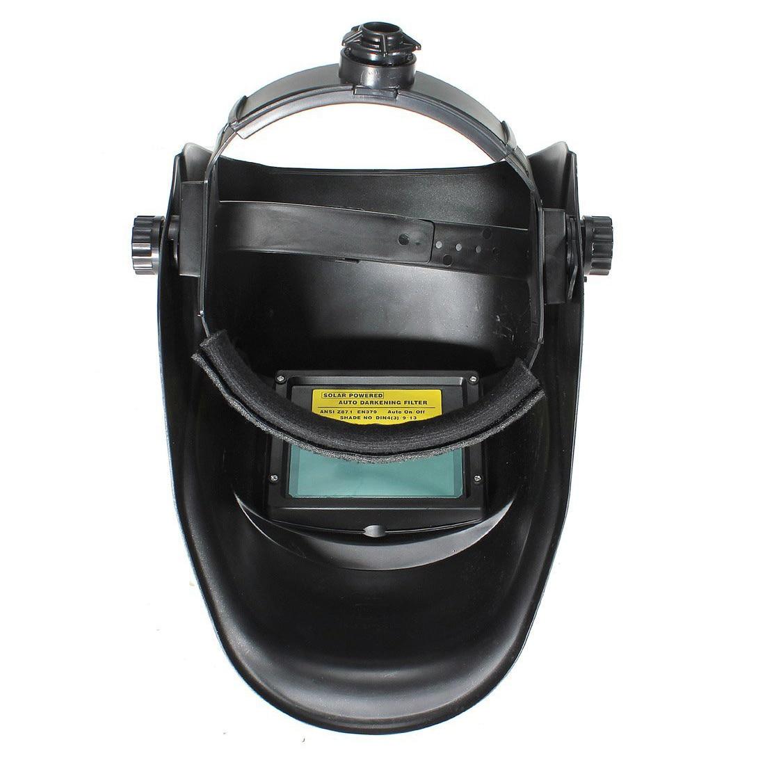 Automatic solar welding helmet welding solar welding mask Flame Skull