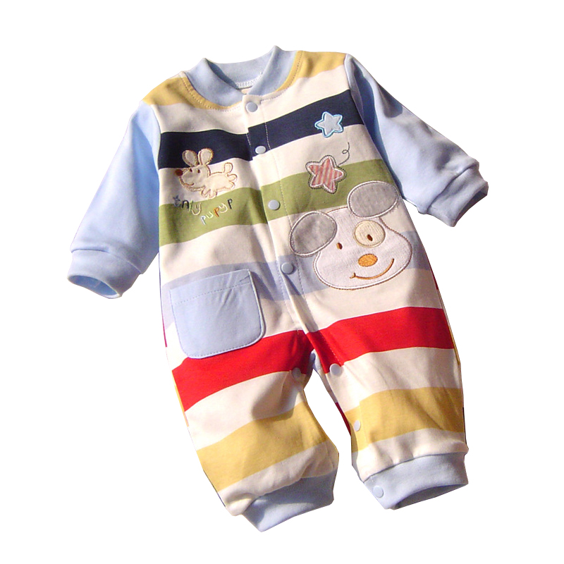 Baby Boy Clothes Cotton Long Sleeve Baby Rompers Winter Baby Clothes Overalls Christmas Costumes for Girl Romper Animal Jumpsuit newborn baby boy rompers autumn winter rabbit long sleeve boy clothes jumpsuits baby girl romper toddler overalls clothing