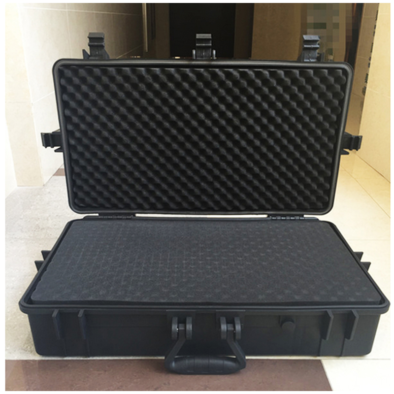 High Quality Waterproof Tool Case Toolbox  Protective Camera Case Instrument Box Camera Case With Pre-cut Foam Lining Suitcase