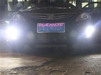 Super Bright LED Daytime Running Lights DRL LED Fog Lamp Case For Hyundai Verna 2010 13