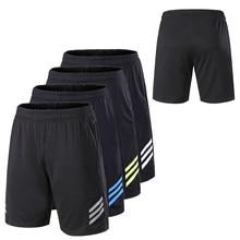 Pantalones cortos de entrenamiento de gimnasio para hombre, Shorts transpirables de secado rápido con bolsillos, holgados para baloncesto, pantalones deportivos para correr