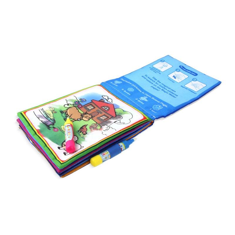 Puzzel Speelgoed Water Tekening Boek Kleurboek Doodle & Magic Pen Schilderen Tekentafel Voor Kinderen Speelgoed Verjaardagscadeau - 4