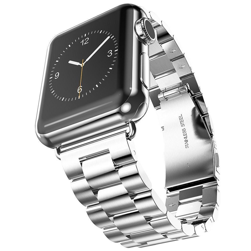 Correa de reloj de acero inoxidable para iWatch Apple Watch 38 mm 40 - Accesorios para relojes - foto 5