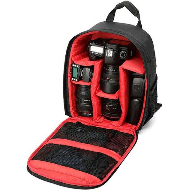 Zaino per fotocamera multifunzione Video borsa digitale custodia per fotocamera esterna impermeabile per Canon/DSLR/per Nikon