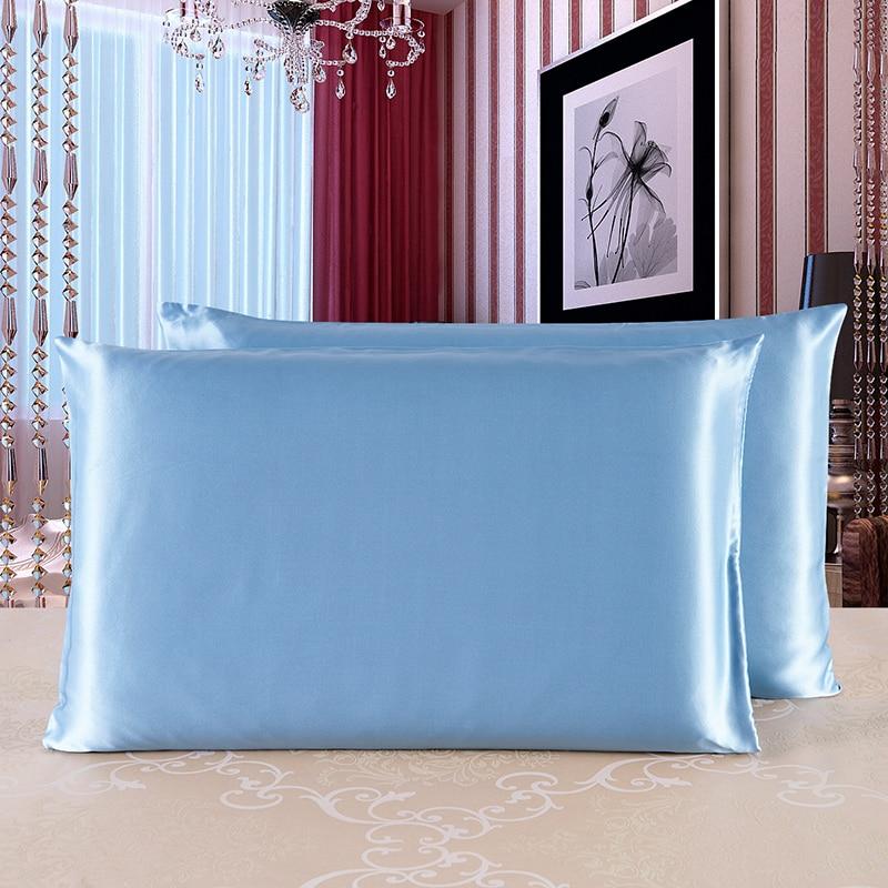 1pc Silk Pillowcase High Quality Both Sides 100 Pure